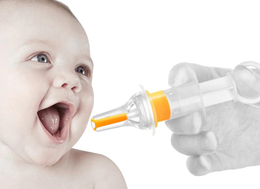 Детский шприц дозатор с колпачком, Belove White (BE1658230321)
