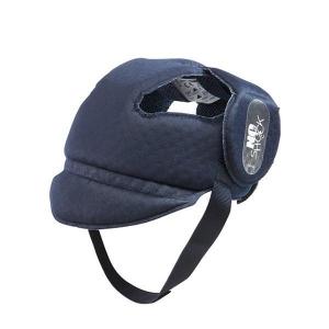 Защитный мягкий шлем-шапочка No Shock, Ok Baby (синий)