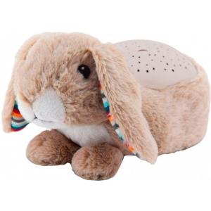 RUBY- РУБИ Кролик Ночник-Проектор звёздного неба с успок. мелодиями
