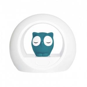 LOU - Лу совёнок ночник со звуковой активацией (синий)
