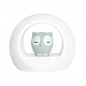 LOU - Лу совёнок ночник со звуковой активацией (серый)