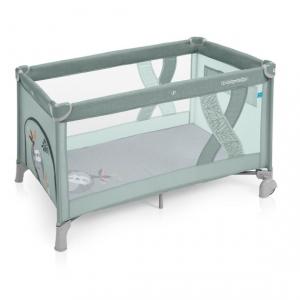 Манеж-кроватка Baby Design SIMPLE 04 GREEN