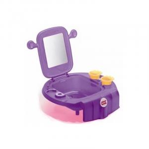 Умывальник Space с безопасным зеркалом, Ok Baby (фиолетовый)
