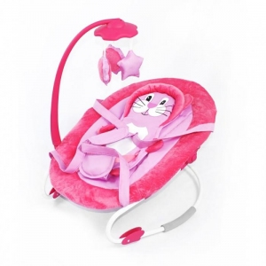 Шезлонг BT-BB-0002, Baby Tilly (Pink)