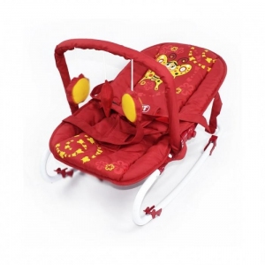 Шезлонг BT-BB-0001, Baby Tilly (RED)