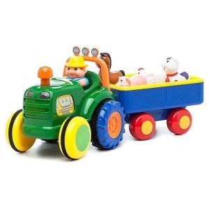 Игрушка на колесах Трактор с трейлером, Kiddieland