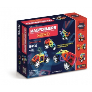 Магнитный конструктор Удивительный набор, 16 эл., Magformers