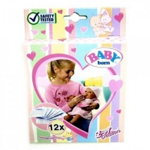 Каша для куклы BABY BORN 12 пакетиков, Zapf