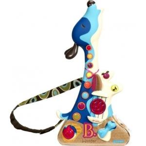 """Детская игрушка-гитара """"ПЕС-ГИТАРИСТ"""" (свет, звук), Battat"""