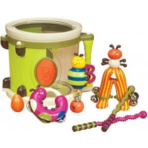 Музыкальная игрушка Парам-пам-пам 8 инструментов, Battat