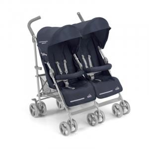 "Прогулочная коляска для двойни ""TWIN FLIP"", Cam (синяя)"